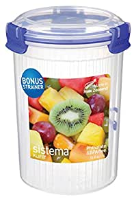 Sistema KLIP IT Round Food Storage Container, 1 L