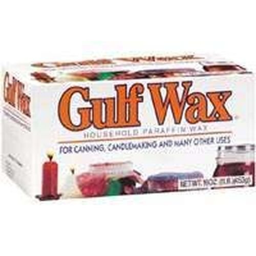 Lot of 6 Fresh 16oz Paraffin Canning Candle Gulf Wax (Gulf Paraffin Wax compare prices)