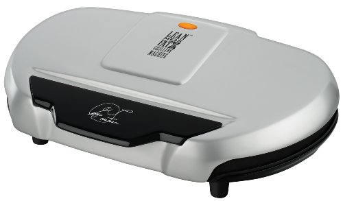 Review Of George Foreman GR144 144-Square-Inch Nonstick Family-Size Grill, Silver