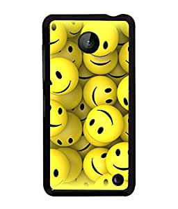 PrintVisa Metal Printed Pattern Designer Back Case Cover for Mnokia Lumia 630-D4892