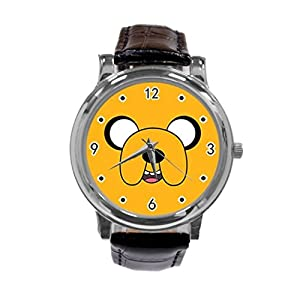 Adventure Time Jake and Finn54-Adventure Time Jake and Finn Unique Diy Custom Photo Design Round Wrist Women Watch -S62