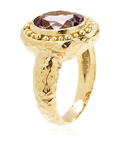 Etrusca Anillo Ring Oval Amethyst