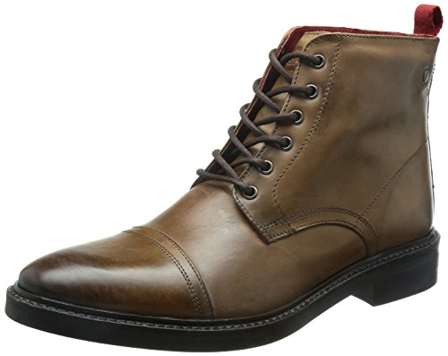 Base London - Eton, Stivale da uomo, Marron (Tan Burnished), 45