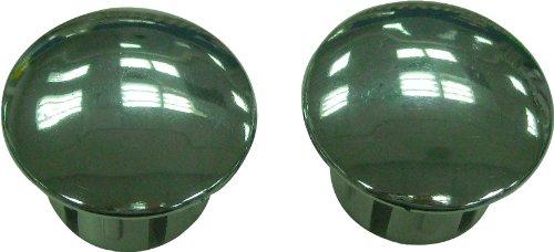 xlc-bike-handlebar-end-plugs-silver-secure-fitting-end-caps-for-handlebar-tape