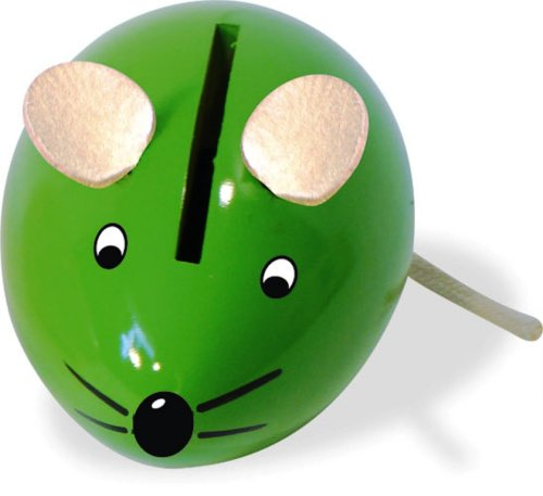 Vilac Mouse Money Box (Colors may vary)