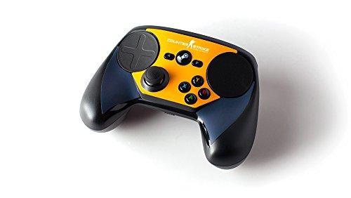 Steam Controller Skin - CSGO Blue/Orange (Steam Sticker compare prices)