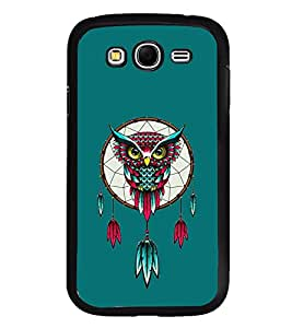 Fuson Premium 2D Back Case Cover Eagle With blue Background Degined For Samsung Galaxy Grand i9080:::Samsung Galaxy Grand i9082