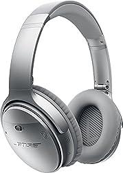 Bose ワイヤレスノイズキャンセリングヘッドホン QuietComfort 35 密閉型/オーバーイヤー/Bluetooth・NFC対応/リモコン・マイク付き/通話可能 シルバー QuietComfort35 WLSS SLV【国内正規品】