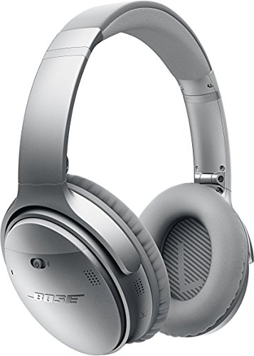 Bose ワイヤレスノイズキャンセリングヘッドホン QuietComfort 35 密閉型/オーバーイヤー/Bluetooth・NFC対応/リモコン搭載/通話可能 シルバー QuietComfort35 WLSS SLV【国内正規品】