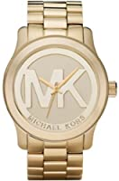 Michael Kors Quartz Goldtone Bracelet Champagne Dial Women's Watch MK5473 by Michael Kors