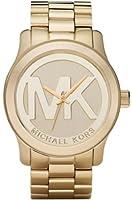 Michael Kors Quartz Goldtone Bracelet Champagne Dial Women's Watch MK5473 by Michael Kors