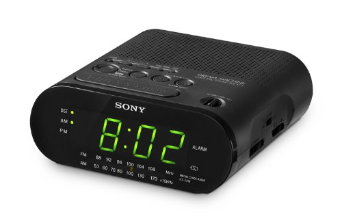 sony dream machine clock radio model no icf c218 home garden decor clocks alarm clocks radios. Black Bedroom Furniture Sets. Home Design Ideas