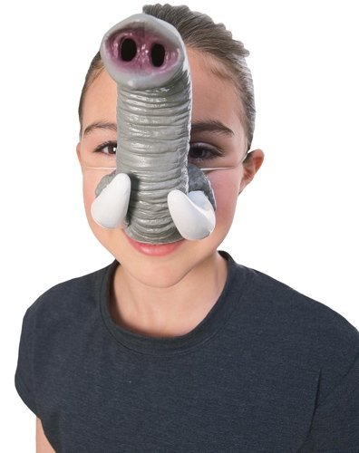 Rubie's Costume Co Elephant Nose with Tusks Costume