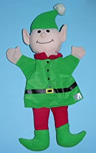 "Ernie Elf Hand Puppet 12"" by Timeless Toys"