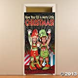 Christmas ELF COUPLE DOOR BANNER/HOLIDAY PARTY PHOTO OP/Decoration/DECOR/ELVES/3 x 6