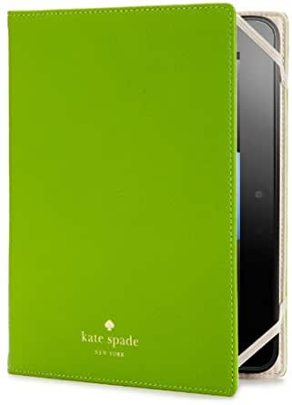 kate spade new york Pebbled Leather Case for Kindle Fire HD, Green (only fits 2nd generation)