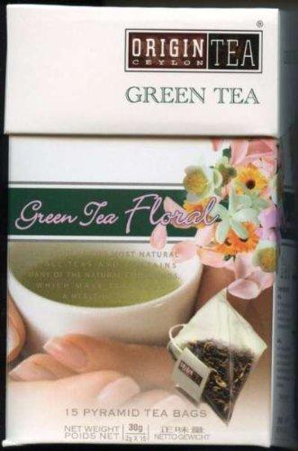 Ceylon Pearl Tea Sri Lanka Origin Tea Green Tea Floral Pyramids