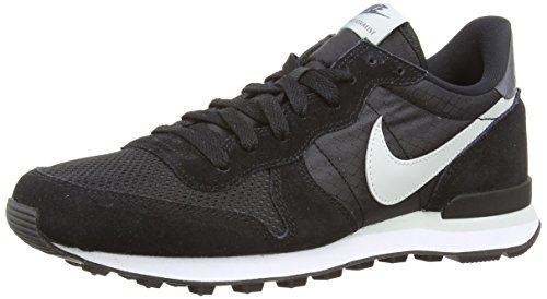 Nike Internationalist, Herren Laufschuhe, Schwarz (Black/Grey Mist-Drk Grey-White 010), 44 EU