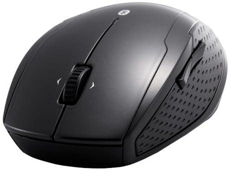 iBUFFALO Bluetooth 3.0対応 BlueLEDマウス 5ボタンタイプ/横スクロールタイプ ブラック BSMBB17BK
