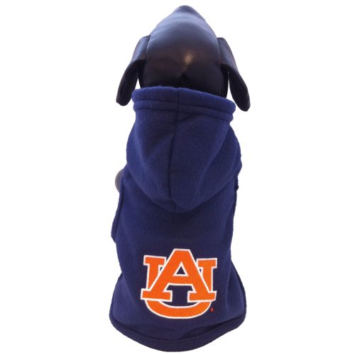 NCAA Auburn Tigers Polar Fleece Hooded Dog Jacket, XX-Large at Amazon.com