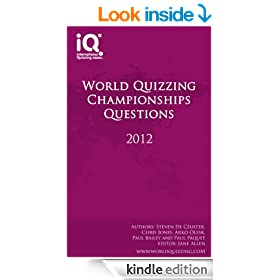 World Quizzing Championships 2012 - Quiz Book