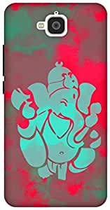 The Racoon Lean printed designer hard back mobile phone case cover for Huawei Honor Holly 2 Plus. (pop ganesh)