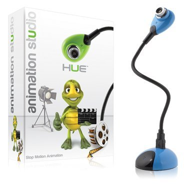 Hue Animation Studio (Blue): The Complete Stop Motion Animation Kit With Camera For Windows Pcs And Apple Mac Os X