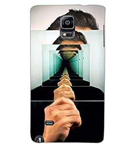 SAMSUNG GALAXY NOTE EDGE ILLUSSION Back Cover by PRINTSWAG