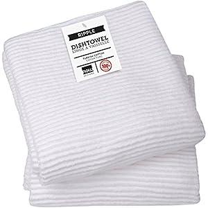 Now Designs Ripple Kitchen Towel Set Of 2 White Home Kitchen