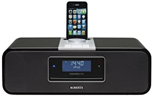 Roberts Sound 200 Bluetooth CD/DAB/FM/USB/SD Digital Stereo Sound System with Dock for iPhone/iPod - Recording Facility (discontinued by manufacturer)