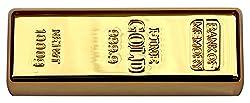 16 GB Pen Drive Gold Bar Shape Golden Color USB 2.0 Pen Drive MT1013