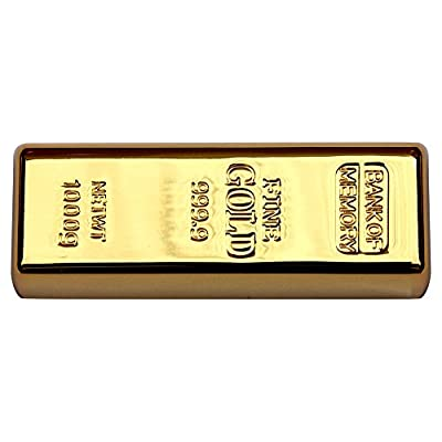 16 GB Pen Drive Gold Bar Shape Golden Color USB 2.0 Pen Drive MT1013