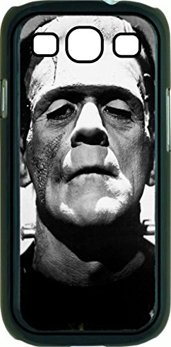 Frankenstein's Monster -© Soft Black Rubber Case with Flip Cover for the Samsung Galaxy s3 i9300 SGH-I747 Universal Made in the U.S.A. (Monsters Inc Galaxy S3 Case compare prices)