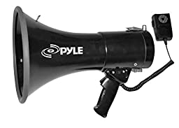 PYLE-PRO PMP53IN 50 Watts Professional Piezo Dynamic Megaphone with 3.5mm Aux-In For Digital Music/iPod