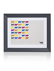 Cow Field Frame Wall Art