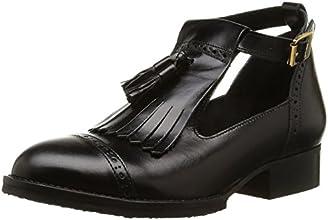 Jonak 225-2432, Chaussures de ville à lacets femme, Noir, 37 EU