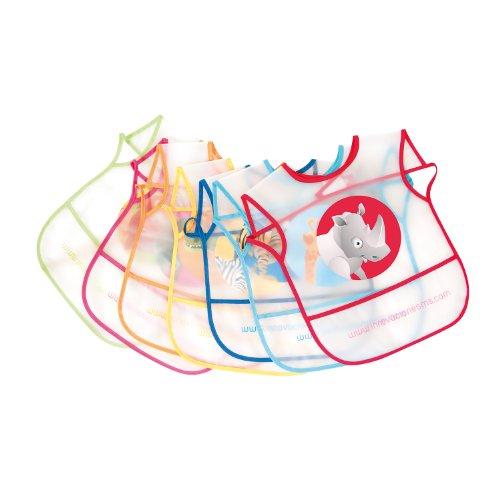innovaciones-ms-5060-pack-de-7-baberos-de-plastico