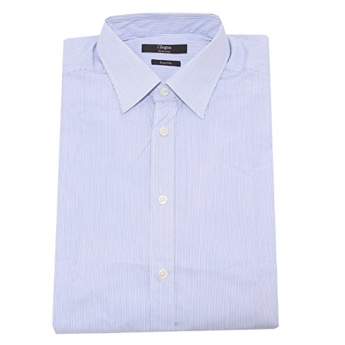 4681O camicia manica lunga LINEA ZZEGNA ERMENEGILDO ZEGNA uomo shirt men [40 (15 3/4)]