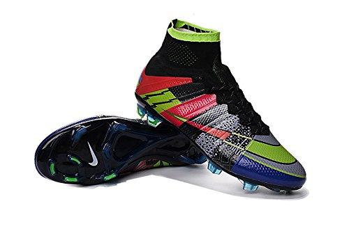 Andrew Mercurial Superfly scarpe da uomo calcio stivali, Uomo, Arcobaleno, 43