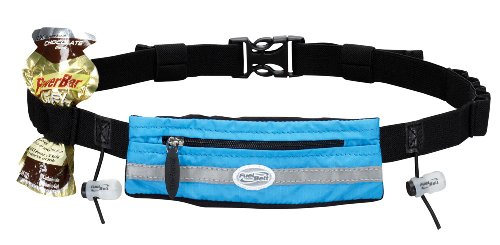 FuelBelt FuelBelt Slim Pocket Race Number Belt, Surf Blue