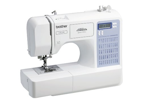 Brother Project Runway CS5055PRW Electric Sewing Machine - 87 Built-In Stitches - Automatic Threading