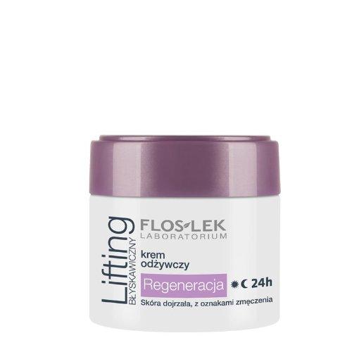 Flos Lek Nourishing Cream Regeneration 24 h Skin Cream for Mature Skin