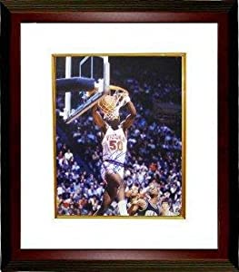 Signed Ralph Sampson Photograph - Virginia Cavaliers 16x20 Custom Framed CPY 81 82 83... by Sports+Memorabilia