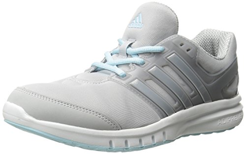 Adidas Performance Women's Galaxy Elite 2.0 Women's Running Shoe,Clear Grey/Silver/Frozen Blue,8 M US