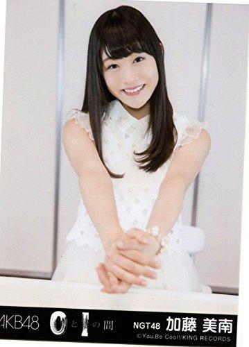 AKB48 公式生写真 0と1の間 劇場盤特典 【加藤美南】