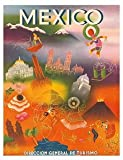 img - for World Travel Poster Direccion General de Turismo Mexico 9 inch by 12 inch book / textbook / text book