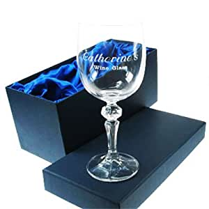 Engraved 50th Birthday Wine Glass 50th Birthday Gifts For