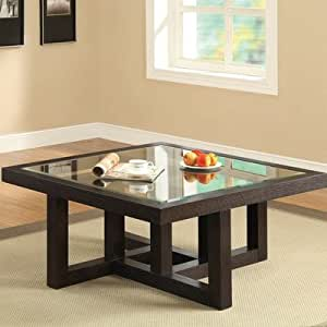 Coffee table square coffee table for Coffee tables on amazon