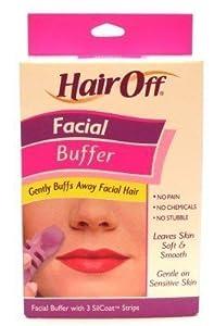 Facial hair buffer
