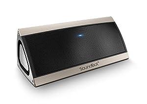 SoundBot SB520 Premium 3D Bluetooth 4.0 Speaker (Gold) from soundbot
